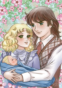 Candy and Terry with their baby by nmarquez72