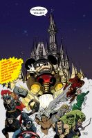 Mickey M.O.D.O.K. by Theamat
