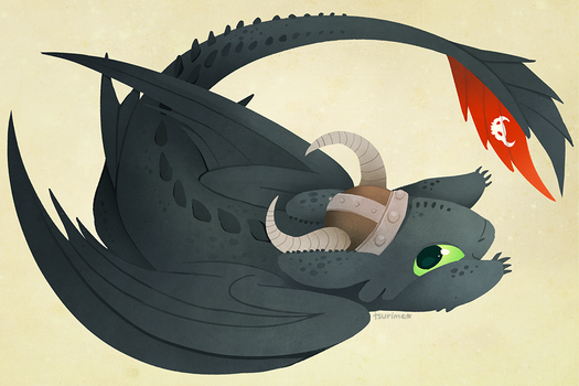 toothless by tsurime