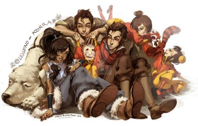 Legend of Korra by CosmicSpectrumm