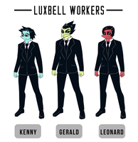 Luxbell Workers by LoulouVZ