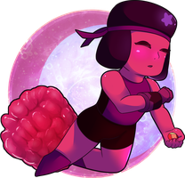 Raspberry Gem(Ruby) by ZikauAlpha