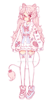 [Closed]  Sketch adoptable #1 by Miercy