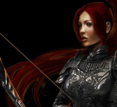 Celtic warrior by phoenixnightmare