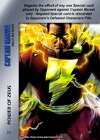 Captain Marvel Special - Power Of Zeus by overpower-3rd