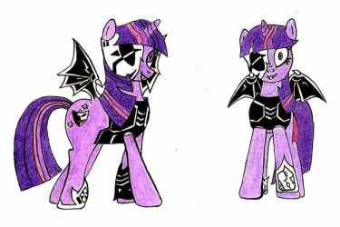 Malefic Twilight Sparkle by FluttershyElsa