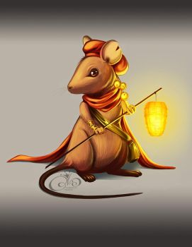 House Mouse by Gabbi