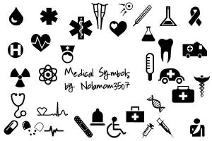 Medical Icon Shapes by Nolamom3507 by Nolamom3507