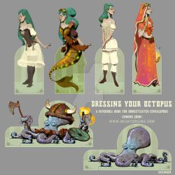 dressing your octopus sneak peek by BrianKesinger