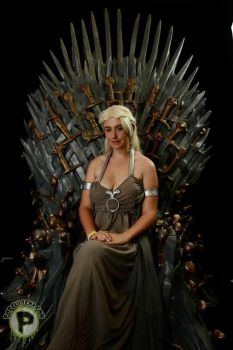 Her Iron Throne by fiery-dragon
