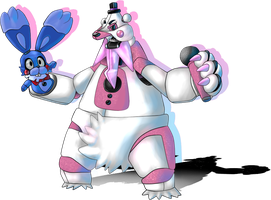 Funtime Beartic-BunBun (Five Nights at Pokemon SL)