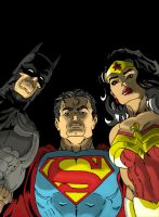 Justice League of America by andreabocci