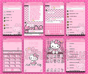 Theme lace kitty Samsung Theme Store by LadyPinkilicious