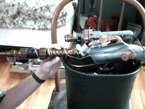 steam punk gun main view by khamal