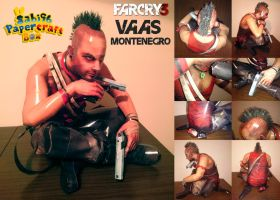 Vaas Montenegro (Far Cry 3) Papercraft by Sabi996