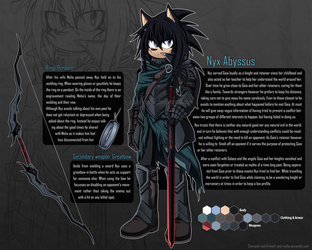 Nyx Character Sheet by Chibi-Nuffie
