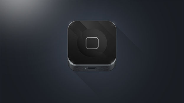 iPhone icon by Dr-Vark