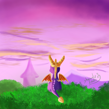 Spyro The Dragon by Sharonliv-Arzets