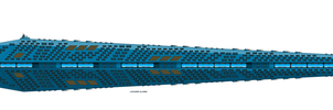 Union Lancer Class Dreadnought by EmperorMyric