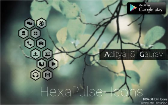 HexaPulse Icon Pack by Gaurav93