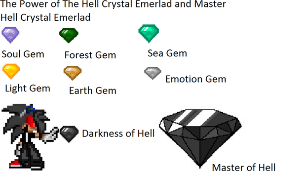 The Power of Hell Crystal Emerald by AquaDragonic