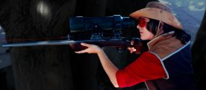 Team Fortress 2 Sniper Rifle Prop by longestne