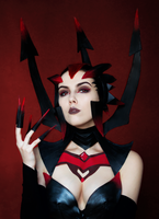 Elise The Spider Queen by Helen-Stifler