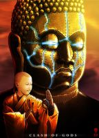 BUDDHA - Clash of Gods by The-Last-Phantom