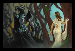 Hades meets Persephone by Elven-Curse