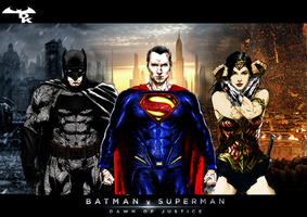 The Trinity from Dawn of Justice by Alexbadass