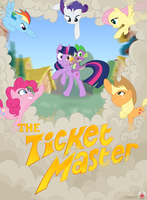 The Ticket Master - Poster by Timon1771