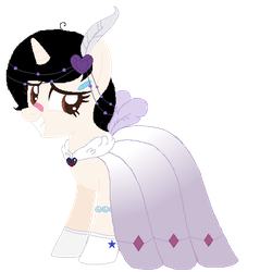 Lullaby's gala dress by ShimmerStarGirl12
