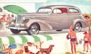 1937 Chevrolet Coupe by Yesterdays-Paper