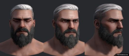 Beard-man (canceled project) by FunkyBunnies
