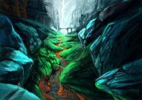 Environment Sketch 01 by DangTruong