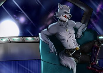 Wolf O'donnell by Vickinky