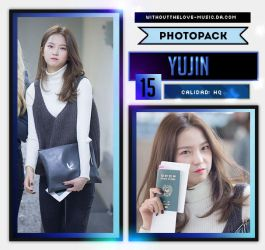 Yu Jin #3 (CLC) |PHOTOPACK| by WithoutTheLove-Music