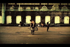 Street Bikers by Joorch