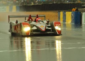 Audi win Le Mans in the rain by DaveAyerstDavies