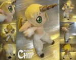 Faunicorn Chip OC plushie by eERIechan