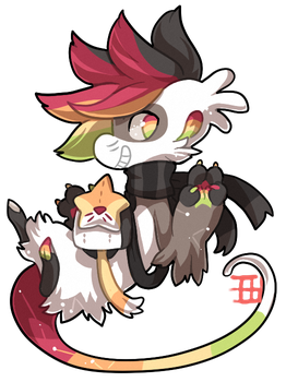 #671 Enlighted Blessed Celestial BB w/m - Starcat by griffsnuff