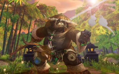 Pandaren Monk Wallpaper by Roscofox
