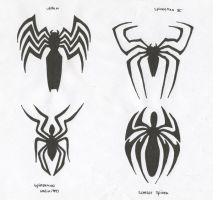 spiderman logo's by Carnivac