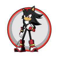 Shadow The Hedgehog  (Sonic Boom) by TheDarkShadow1990