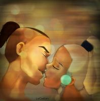 Sokka's First Love by LaGelian