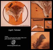 Coyote Talisman by leopardwolf