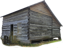 Pioneer Cabin 01 - PNG by Thy-Darkest-Hour