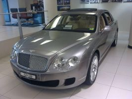 Showroom Bentley Continental Flying Spur by TricoloreOne77