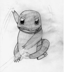 PokeSeries (Pencil) #004 Charmander by TwiggyTwix