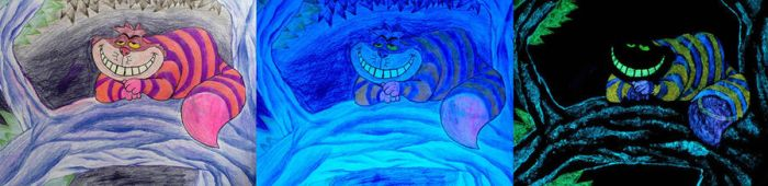 Glow in the Dark Cheshire Cat by ICPJuggalo1988